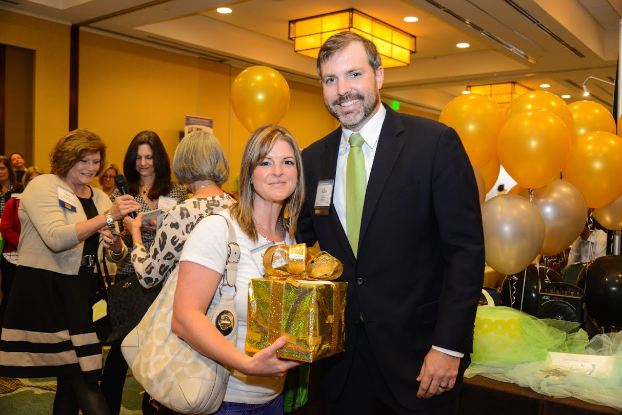 Kristin Salyards won PeriGen's Export Contest at the Perinatal Leadership Forum