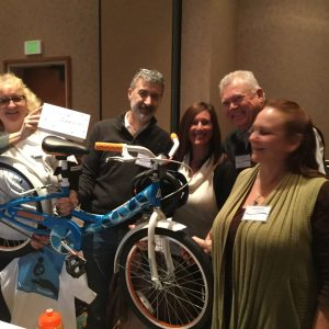 Team #4 was one of the first to complete the bike they build for Nakayla