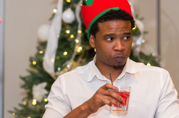 who spiked this elf's drink?