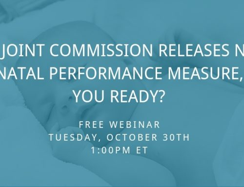 Perigen to Deliver Educational Webinar on The Joint Commission's New Perinatal Performance Measure